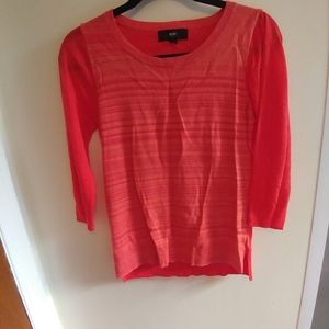 Bright Pink Light Weight Sweater Top